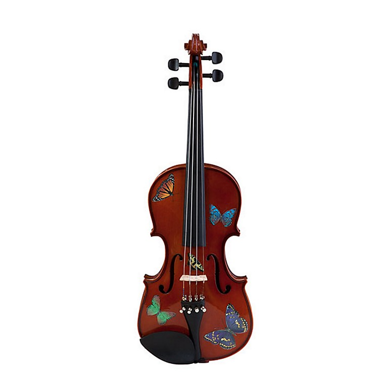 Rozanna's ViolinsButterfly Dream Series Violin Outfit1/2 Size