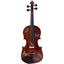 Rozanna's Violins Butterfly Dream Series Violin Outfit 1/8 Size