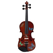 Rozanna's Violins Butterfly Dream Series Violin Outfit 3/4 Size