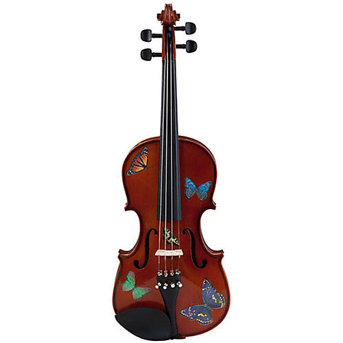 Rozanna's Violins Butterfly Dream Series Violin Outfit-thumbnail