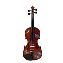Rozanna's Violins Butterfly Dream Series Violin Outfit Level 1 1/2 Size