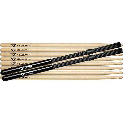Vater Buy 4 Pairs 5A Wood Get Free Pair Whips-thumbnail