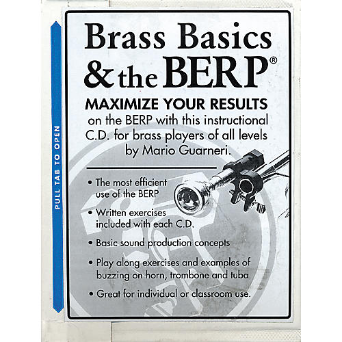BERP Buzz Extension and Resistance Piece Brass Basics and The B.E.R.P. CD