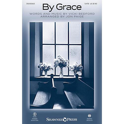 Shawnee Press By Grace SATB arranged by Jon Paige-thumbnail