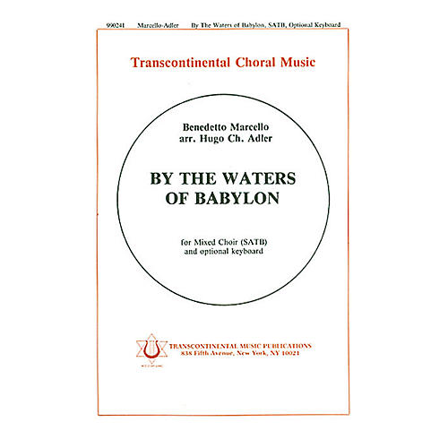 Transcontinental Music By The Waters Of Babylon SATB arranged by Hugo Adler-thumbnail