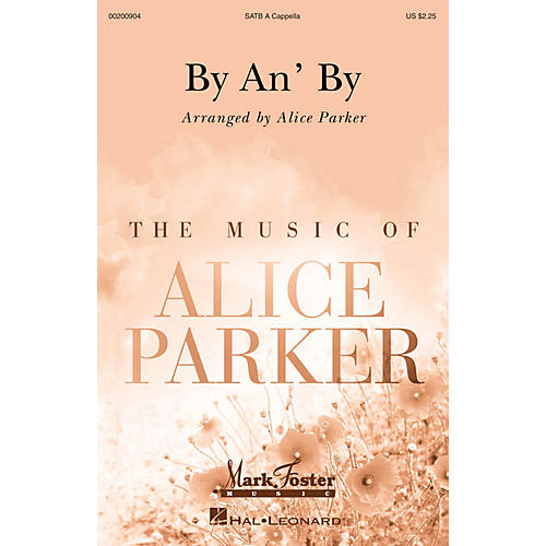Mark Foster By an' By (Mark Foster) SATB a cappella arranged by Alice Parker-thumbnail