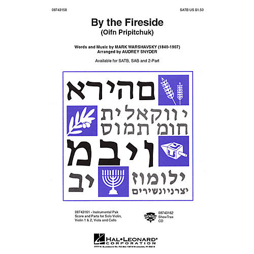 Hal Leonard By the Fireside (Oif'n Pripitchuk) ShowTrax CD Arranged by Audrey Snyder-thumbnail