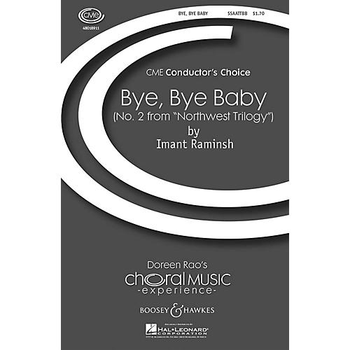 Boosey and Hawkes Bye, Bye Baby (No. 2 from Northwest Trilogy) CME Conductor's Choice SSAATTBB composed by Imant Raminsh-thumbnail