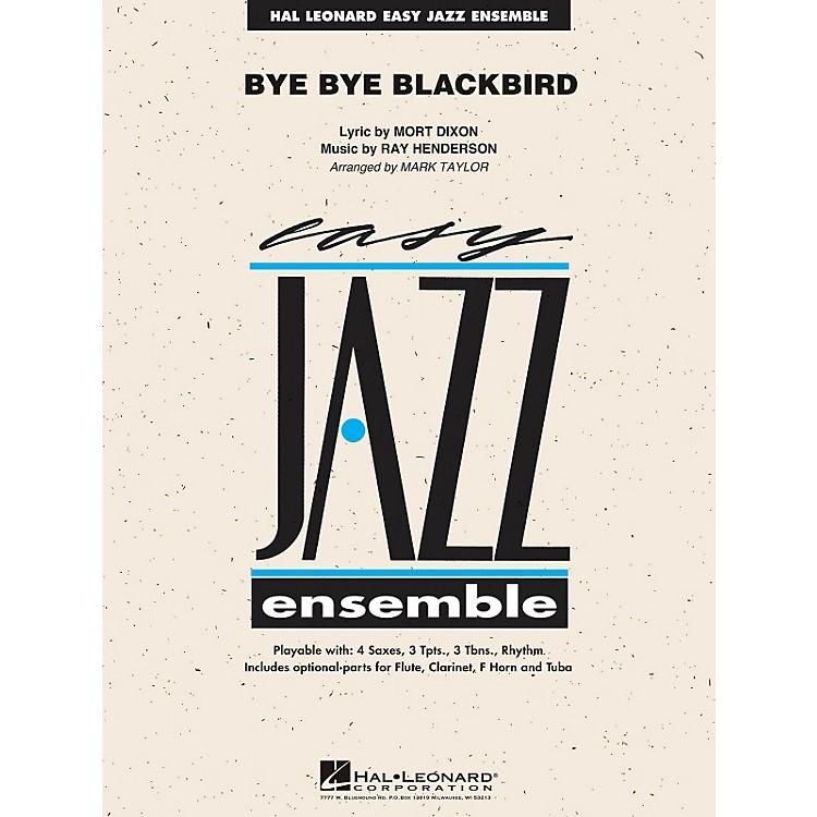 Hal LeonardBye Bye Blackbird - Easy Jazz Ensemble Series Level 2