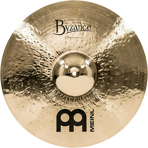 Meinl Byzance Brilliant Heavy Hammered Crash Cymbal