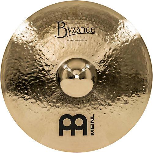 Meinl Byzance Brilliant Heavy Hammered Crash Cymbal-thumbnail