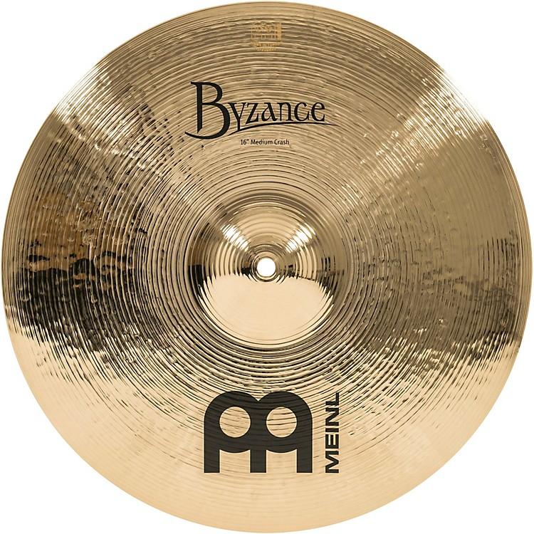 MeinlByzance Brilliant Medium Crash Cymbal16