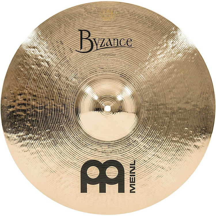MeinlByzance Brilliant Medium Crash Cymbal