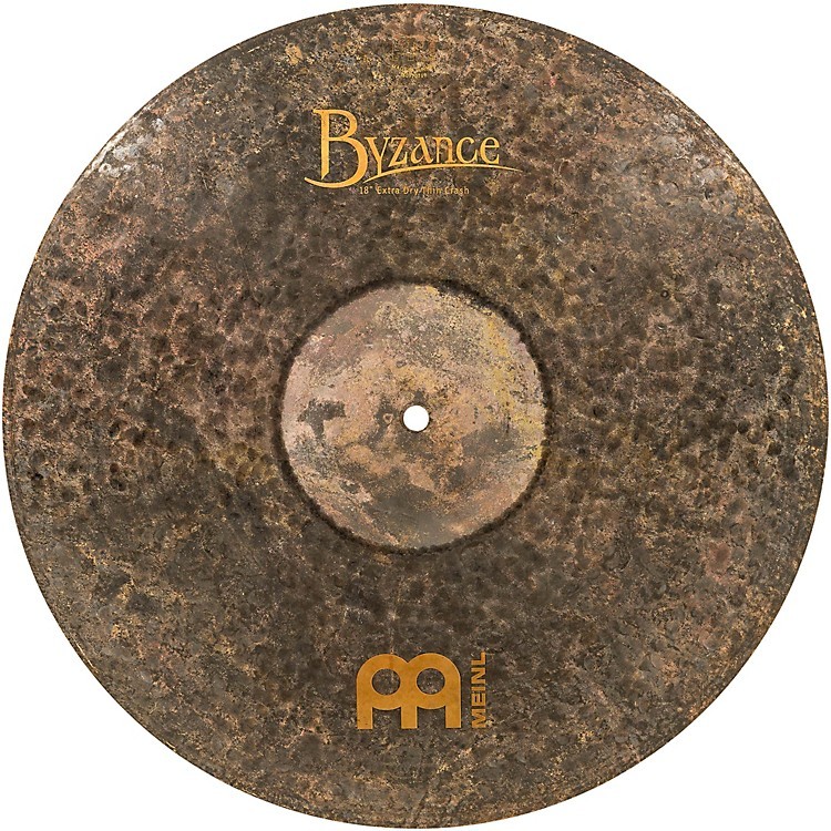 Meinl Byzance Extra Dry Thin Crash Traditional Cymbal 18