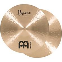 Meinl Byzance Heavy Hi-Hat Traditional Cymbals 14 in.