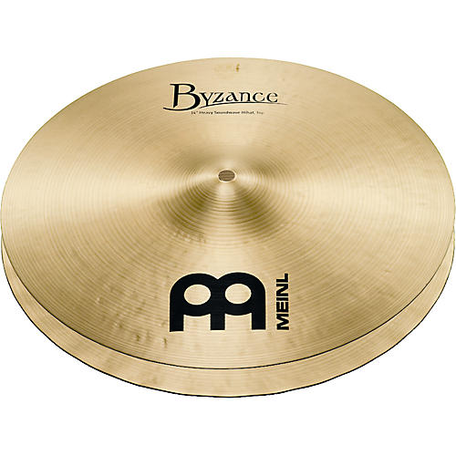 Meinl Byzance Heavy Soundwave Hi-Hat Traditional Cymbals-thumbnail