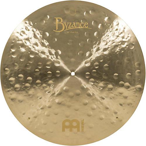 Meinl Byzance Jazz Club Ride Traditional Cymbal 22 in.