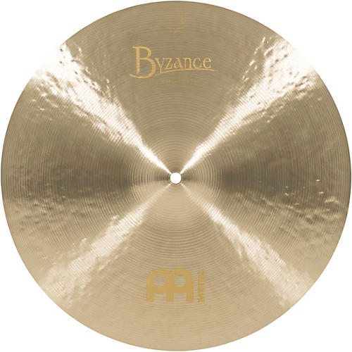 Meinl Byzance Jazz Medium Thin Crash Cymbal-thumbnail