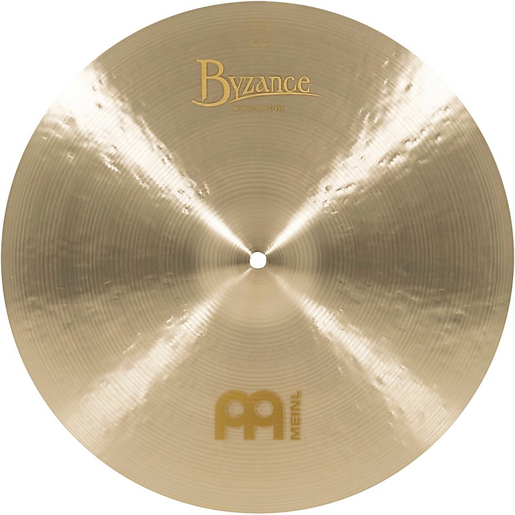 Meinl Byzance Jazz Thin Crash Traditional Cymbal 16 In