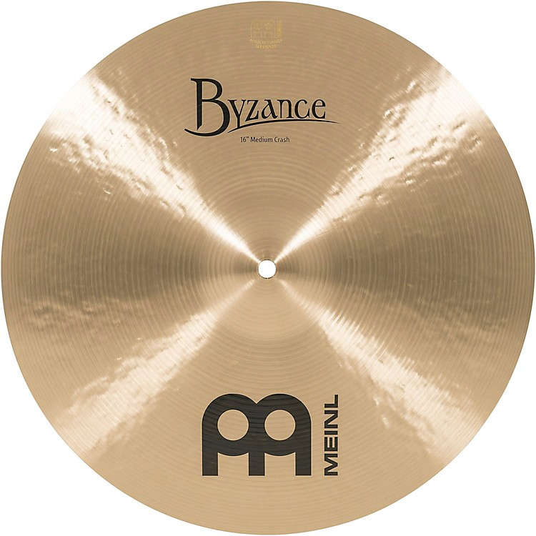 Meinl Byzance Medium Crash Traditional Cymbal 16