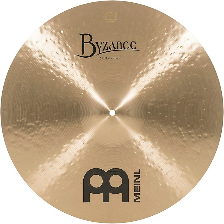 Meinl Byzance Medium Crash Traditional Cymbal 18