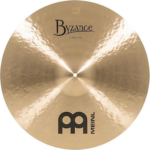 Meinl Byzance Medium Crash Traditional Cymbal 21 in.