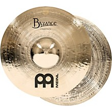 Meinl Byzance Medium Hi-Hat Brilliant Cymbals