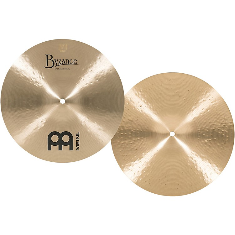 MeinlByzance Medium Hi-Hat Cymbals14 Inches