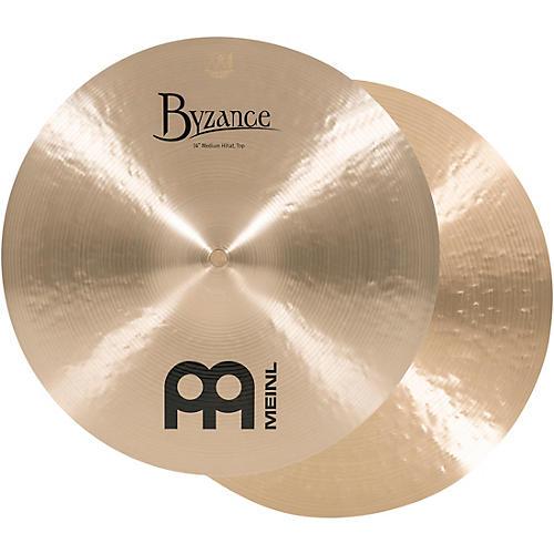 meinl byzance medium hi hat cymbals thumbnail