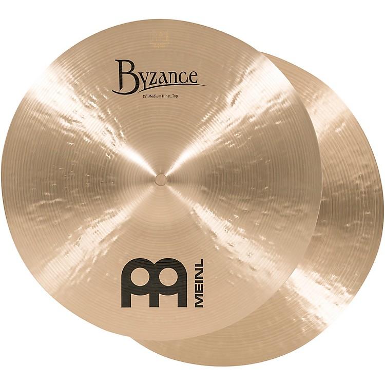 MeinlByzance Medium Hi-Hat Cymbals15