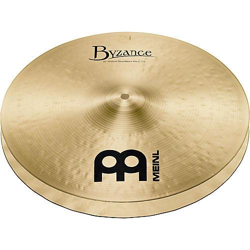 Meinl Byzance Medium Soundwave Hi-Hat Traditional Cymbals-thumbnail