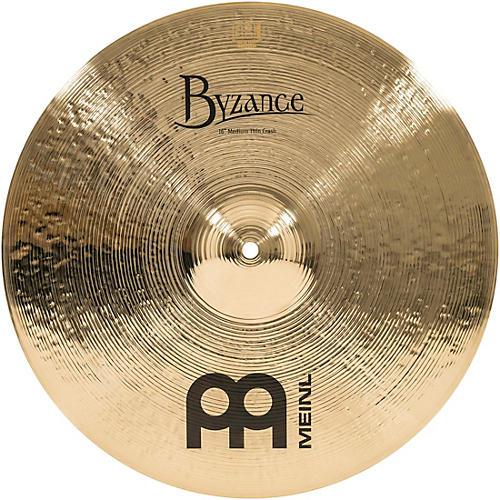 Meinl Byzance Medium Thin Crash Brilliant Cymbal-thumbnail
