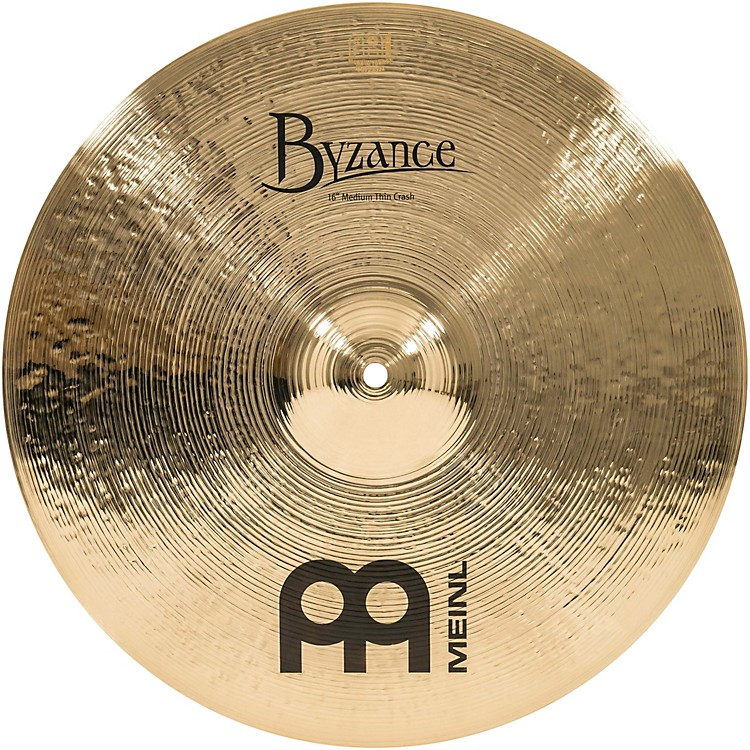 MeinlByzance Medium Thin Crash Brilliant Cymbal19