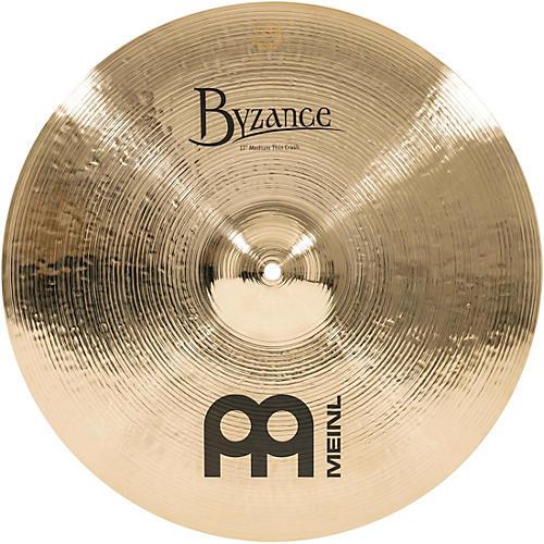 Meinl Byzance Medium Thin Crash Brilliant Cymbal