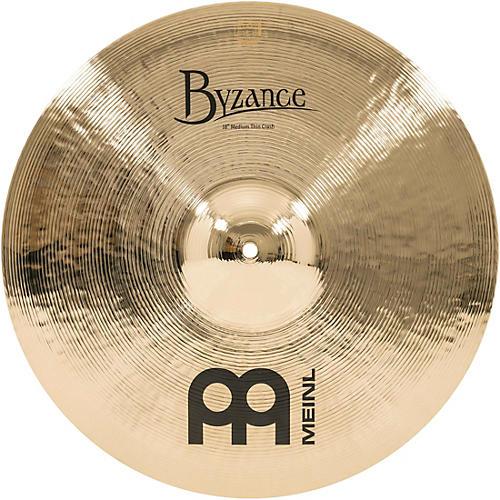 Meinl Byzance Medium Thin Crash Brilliant Cymbal 18 in.