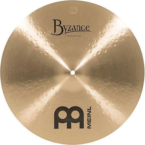 Meinl Byzance Medium Thin Crash Traditional 17 in.