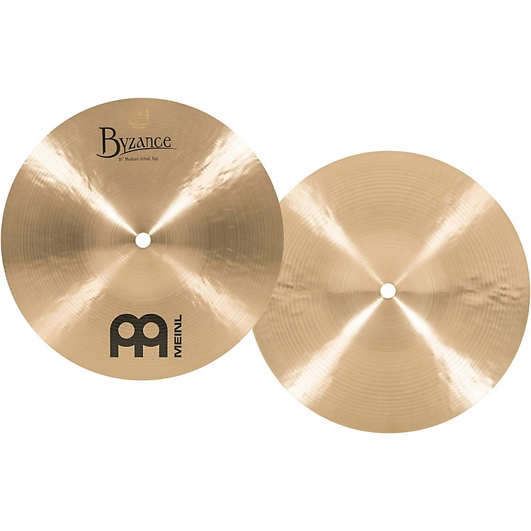 Meinl Byzance Mini Hi-Hat Traditional Cymbals 10