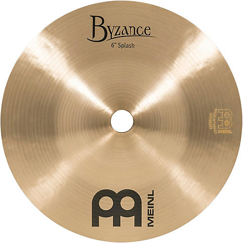 Meinl Byzance Splash Traditional Cymbal 6 in.