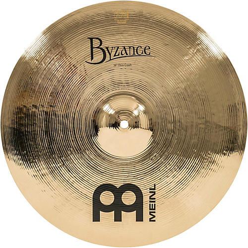 Meinl Byzance Thin Crash Brilliant Cymbal 16 in.