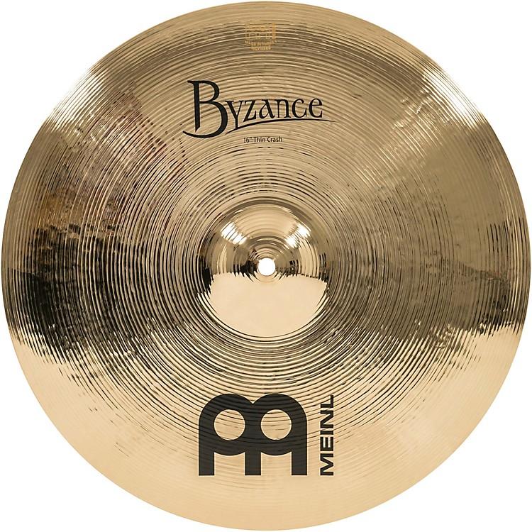 MeinlByzance Thin Crash Brilliant Cymbal16