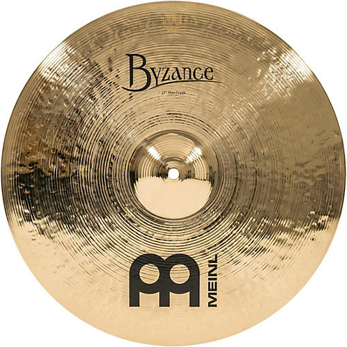 Meinl Byzance Thin Crash Brilliant Cymbal 17 in.