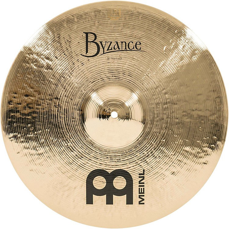 MeinlByzance Thin Crash Brilliant Cymbal18