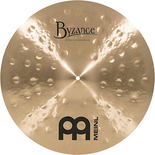 Meinl Byzance Traditional Extra Thin Hammered Crash 20 inch