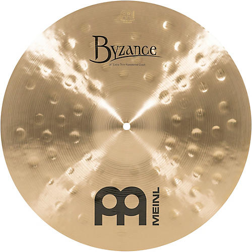 Meinl Byzance Traditional Extra Thin Hammered Crash Cymbal 18 Inch