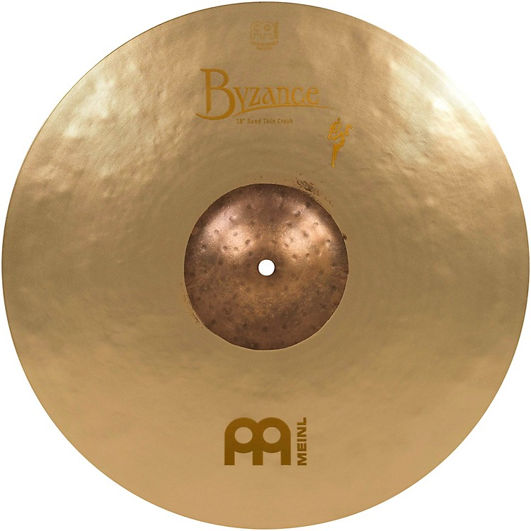 Meinl Byzance Vintage Series Benny Greb Sand Thin Crash Cymbal 18 Inch