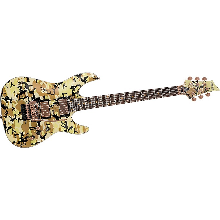 Schecter Guitar Research C-1 FR Limited Desert Camo Electric Guitar