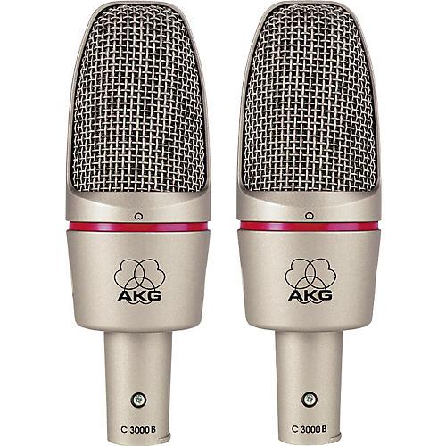 AKG C 3000 B Condenser Mic Twin Pack