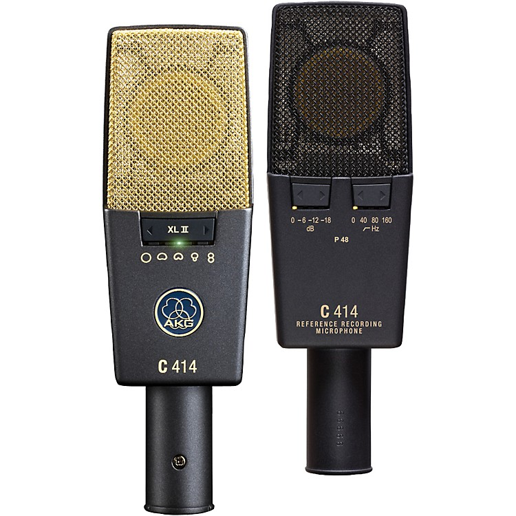 AKGC 414 XL II/ST Stereo Microphone Set