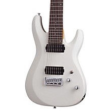 C-8 Deluxe Eight-String Electric Guitar Satin White
