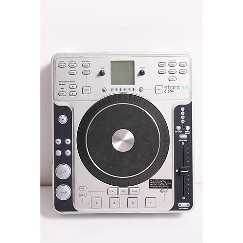 Stanton C.304 Tabletop CD Player with Touch Sensitive Wheel-thumbnail